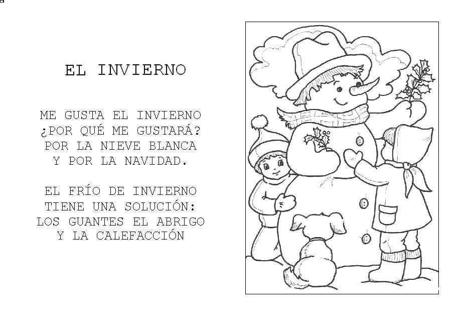 Menta m s chocolate recursos y actividades para for Poemas de invierno