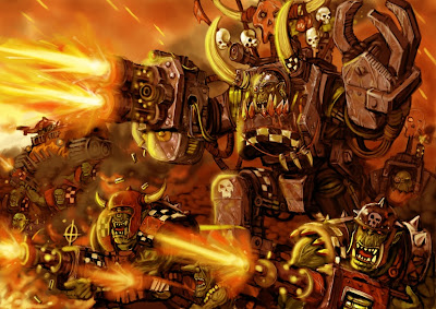 Warhammer 40000 Orkos