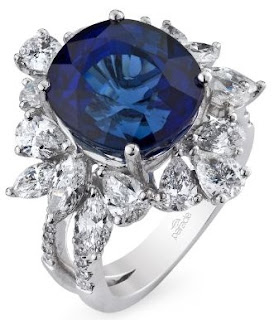 Parade's Diamond and Sapphire Ring