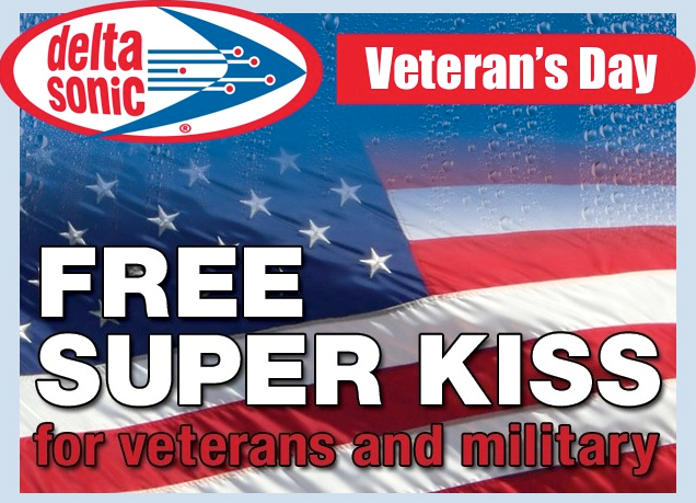 Veteran's Day Car Washes - Military Discounts