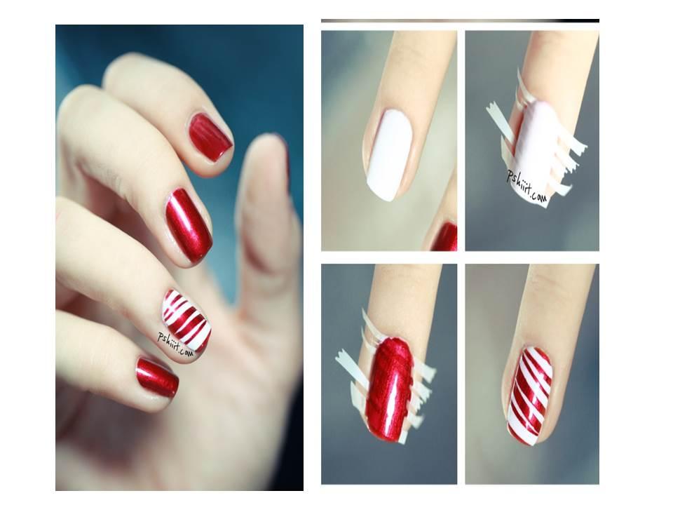 Bashari magazine decoraci n de u as o nail art para lucir incre bles dise os navide os durante - Decoracion con caramelo ...