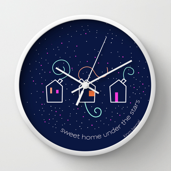 "Reloj Kinm Bernal ""sweet home under the stars"""