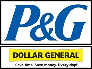 P&G Dollar General logo