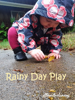 ideas for playing with kids during storms