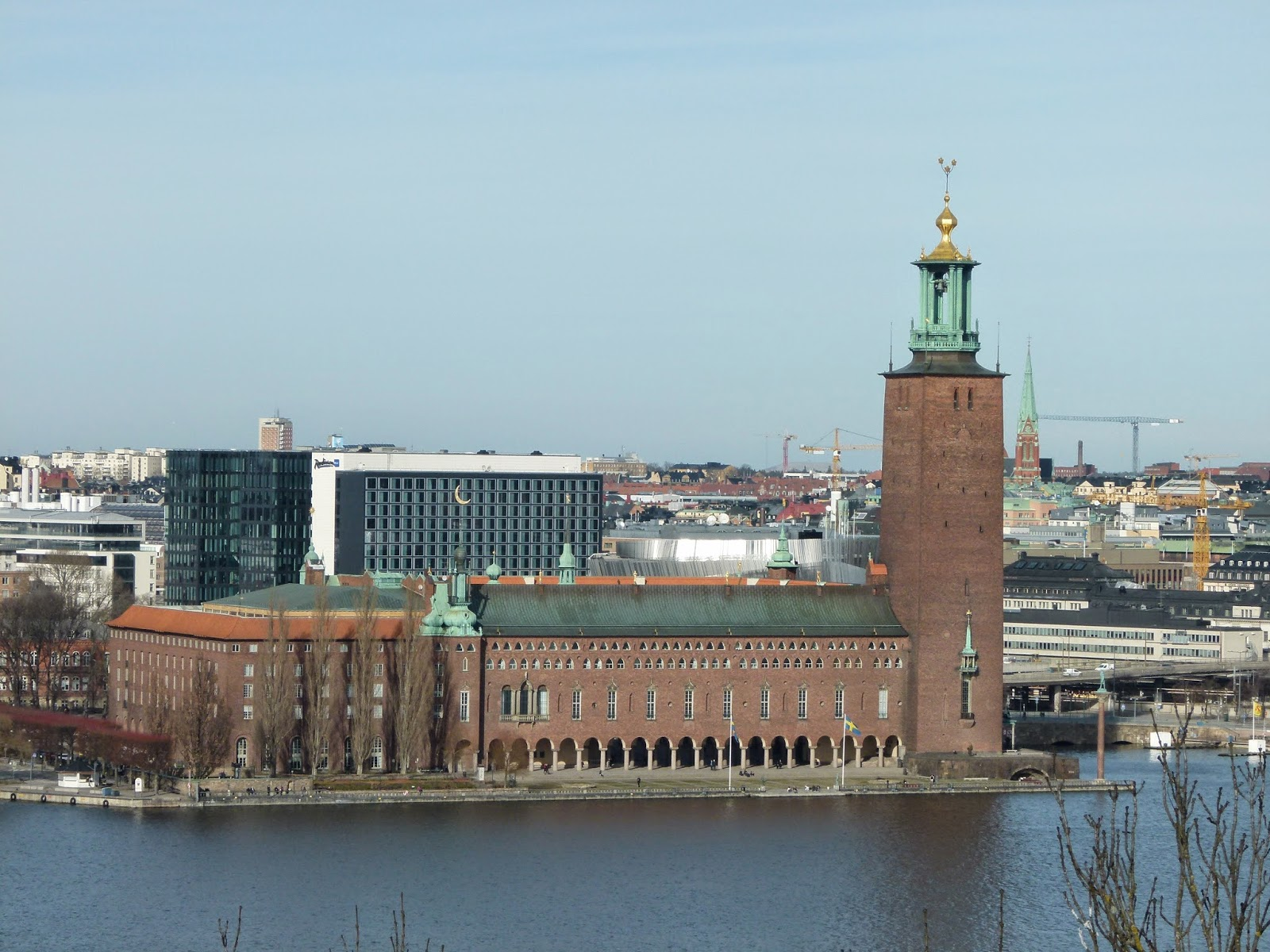 best viewpoints in stockholm stadshuset