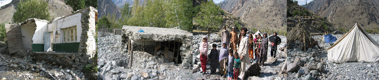FLOOD DESTRUCTION IN ISHKOMEN GHIZER GILGIT BALTISTAN
