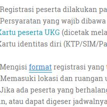 Persyaratan dan Cara Registrasi Peserta UKG Online 2015