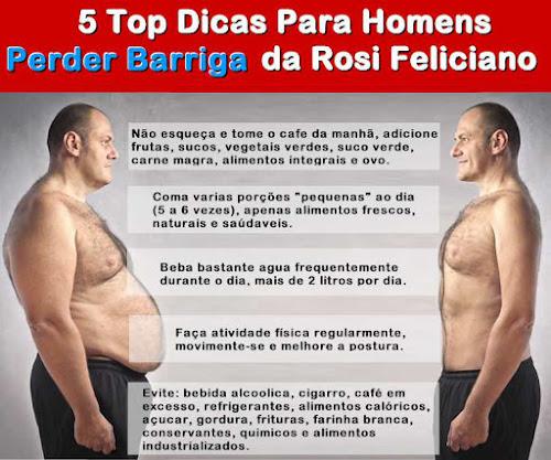 Maneiras Naturais para Perder Gordura da Barriga (Rosi Feliciano)