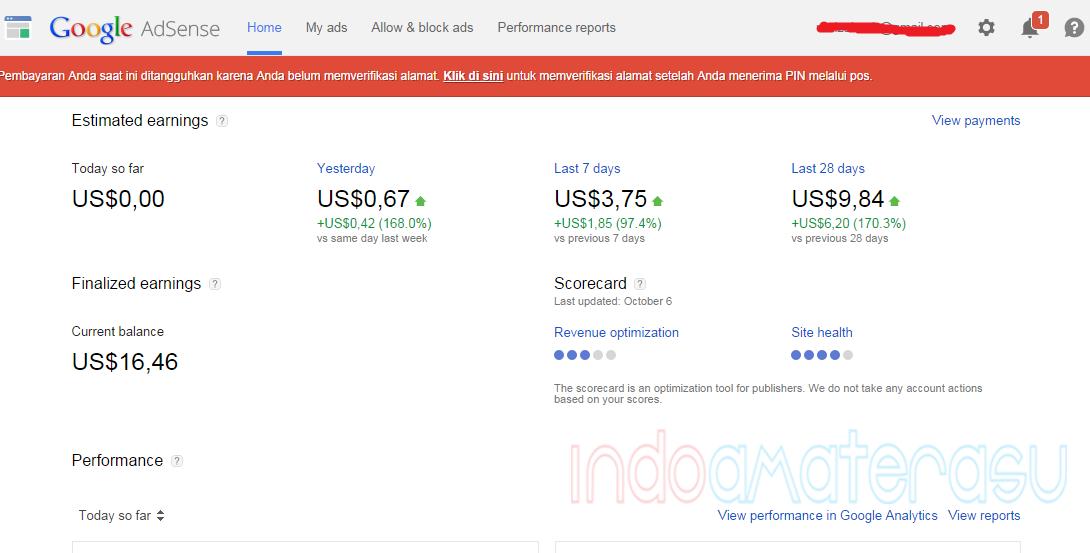 Cara Reques PIN Google Adsense Yang Tak Kunjung Datang 2