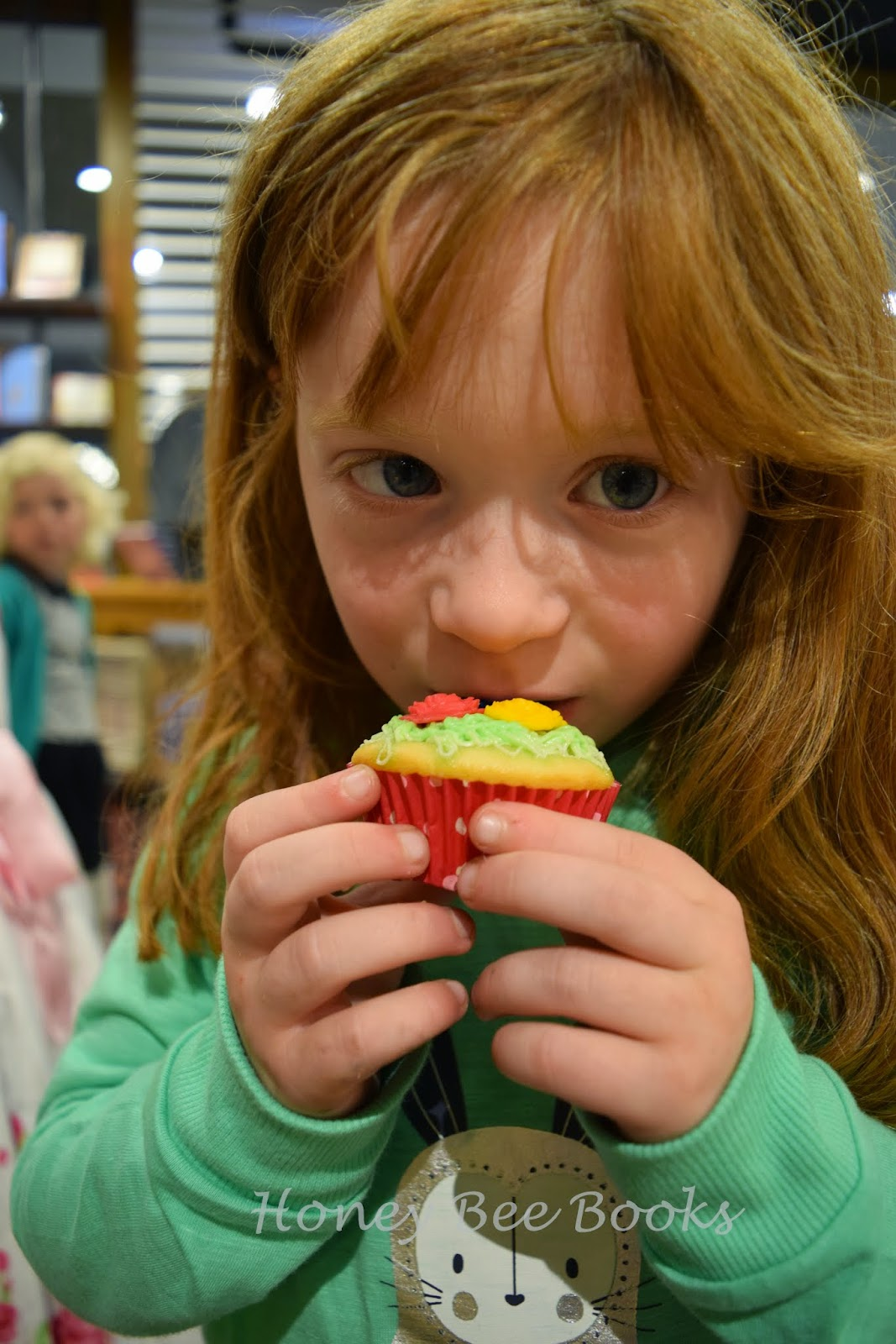 Delicious cupcakes at the book launch of Clyde's Prickly Ride