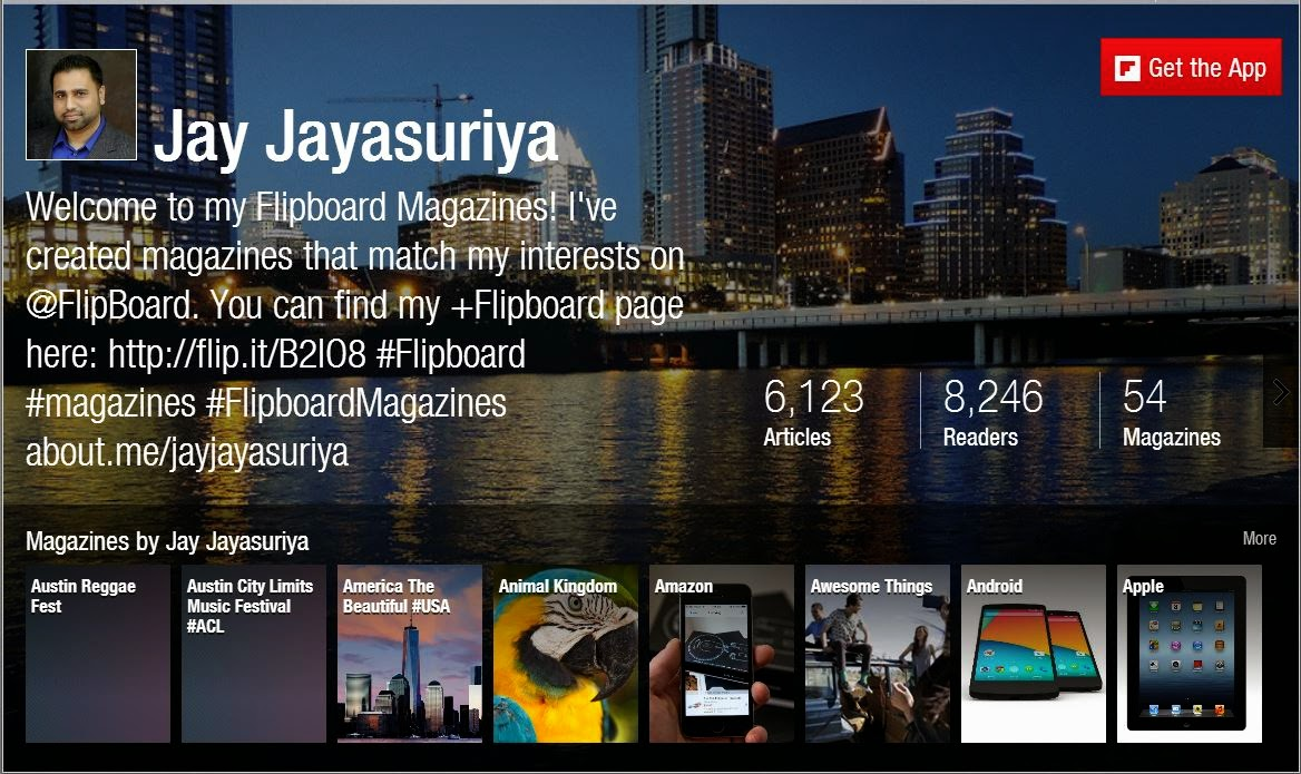 Follow me on Flipboard