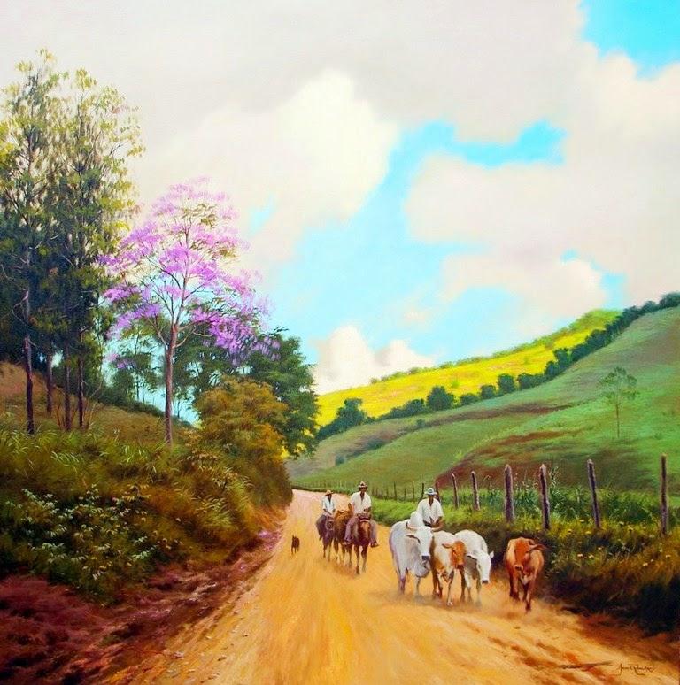 cuadros-de-paisajes-del-campo