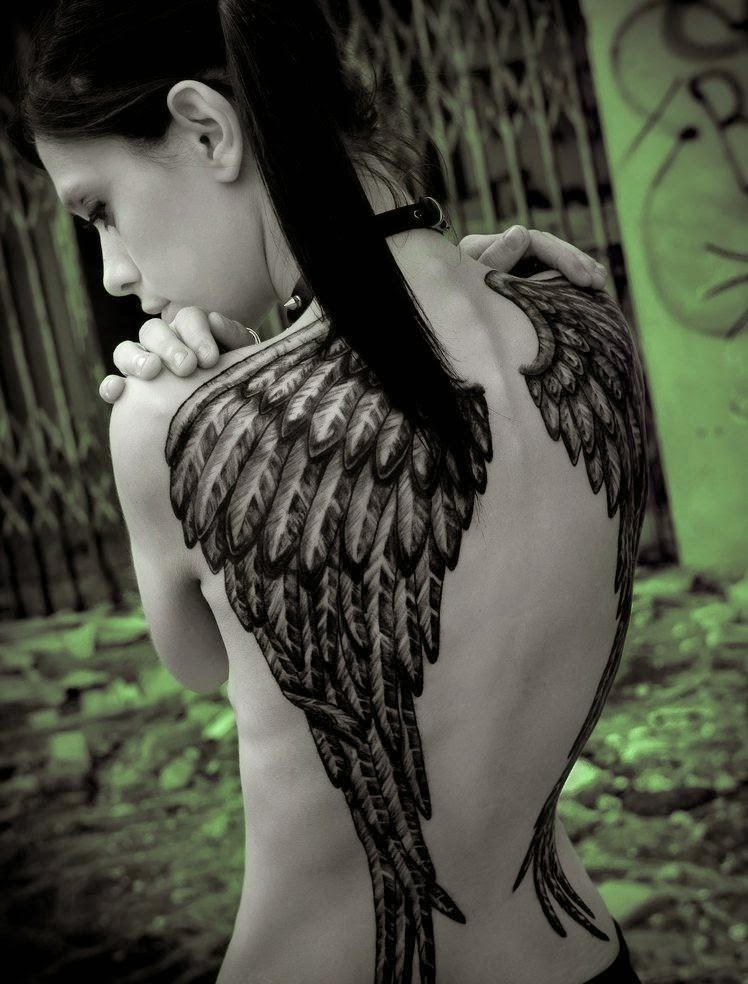Angel Wings Tattoo Idea