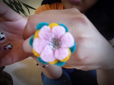 anillo de fieltro