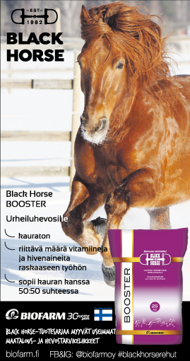 Kilpahevosille Black Horse Booster