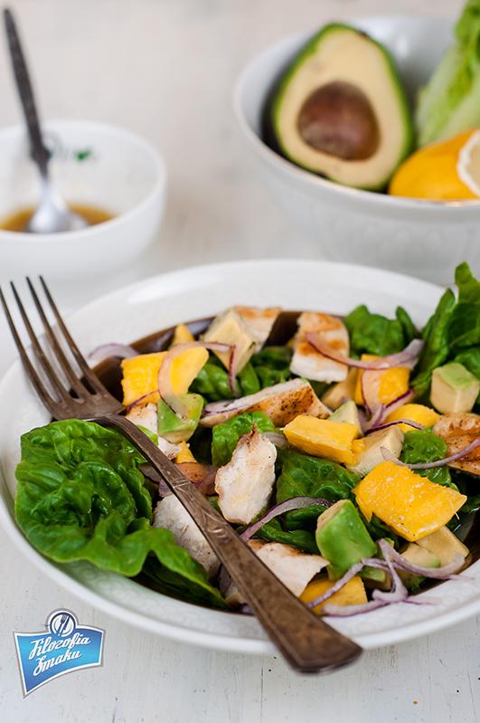 Przepis na sałatkę z mango