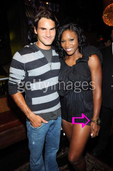 Serena Williams wearing a Jenny Dayco bracelet
