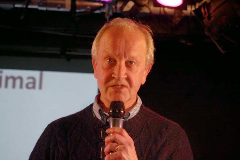 Dr John Wood, Nerd Nite photos by Annabelle Spender