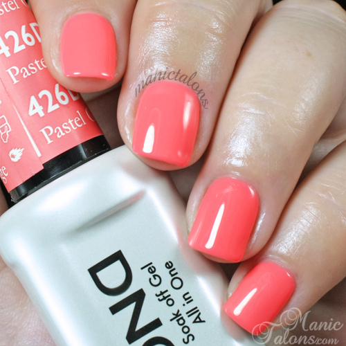 Daisy Duo Pastel Orange Swatch