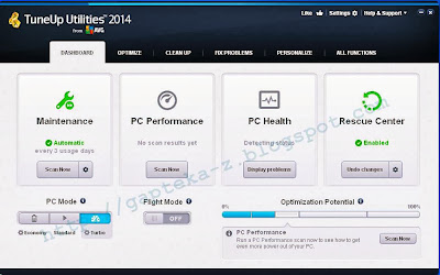 Free Download TuneUp Utilities 2014 Final Full Version with Serial Number
