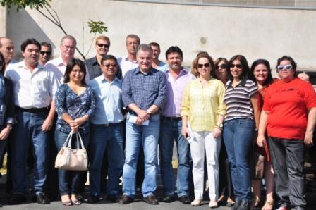 Deputado Samuel visita obras do AME em Pariquera-Açu