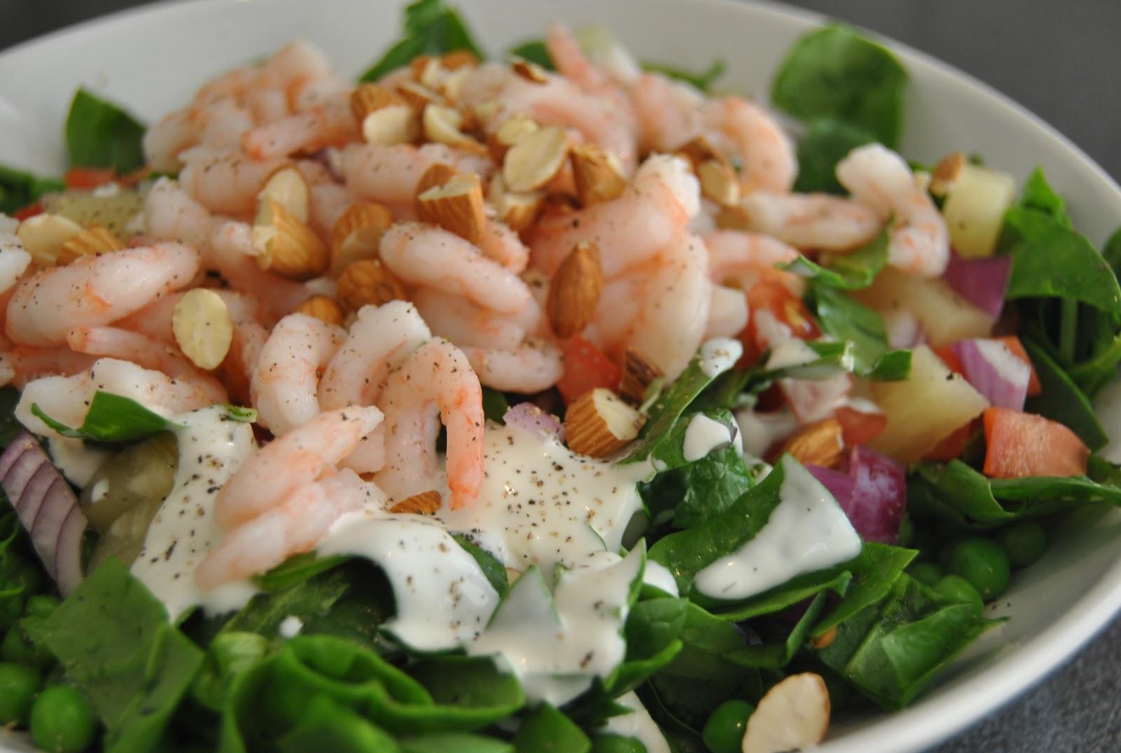 Salat Med Rejer Jeg Elsker Bare Mad