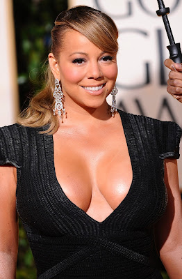 Mariah Carey considering breast reduction?  Mariah-Carey-boob-job