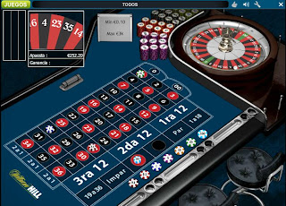 Ejemplo de partida online en William Hill