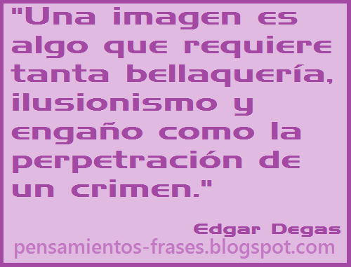 frases de Edgar Degas