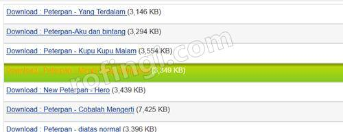 Cara baru Download lagu di 4shared2