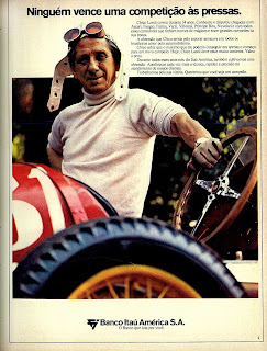 propaganda Banco Itaú - 1972 - com Chico Landi; 1972; brazilian advertising cars in the 70s; os anos 70; história da década de 70; Brazil in the 70s; propaganda carros anos 70; Oswaldo Hernandez;