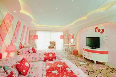 Hotel Unyu untuk Cewek, Dari Hello Kitty Sampai Barbie