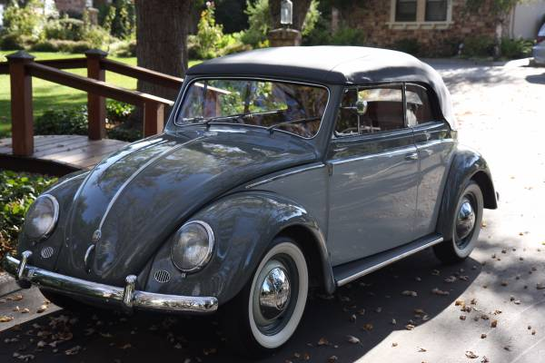 1954 Fully Restored Beetle Convertible