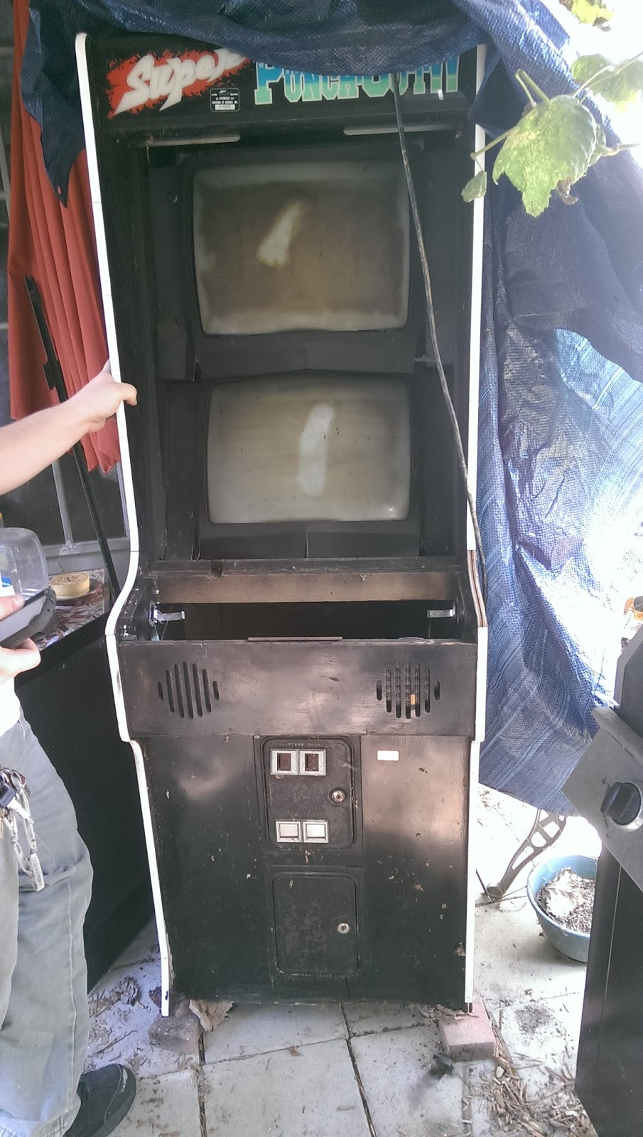 Filthy Pants: A Computer Blog: My Super Punch Out!! Arcade Cabinet