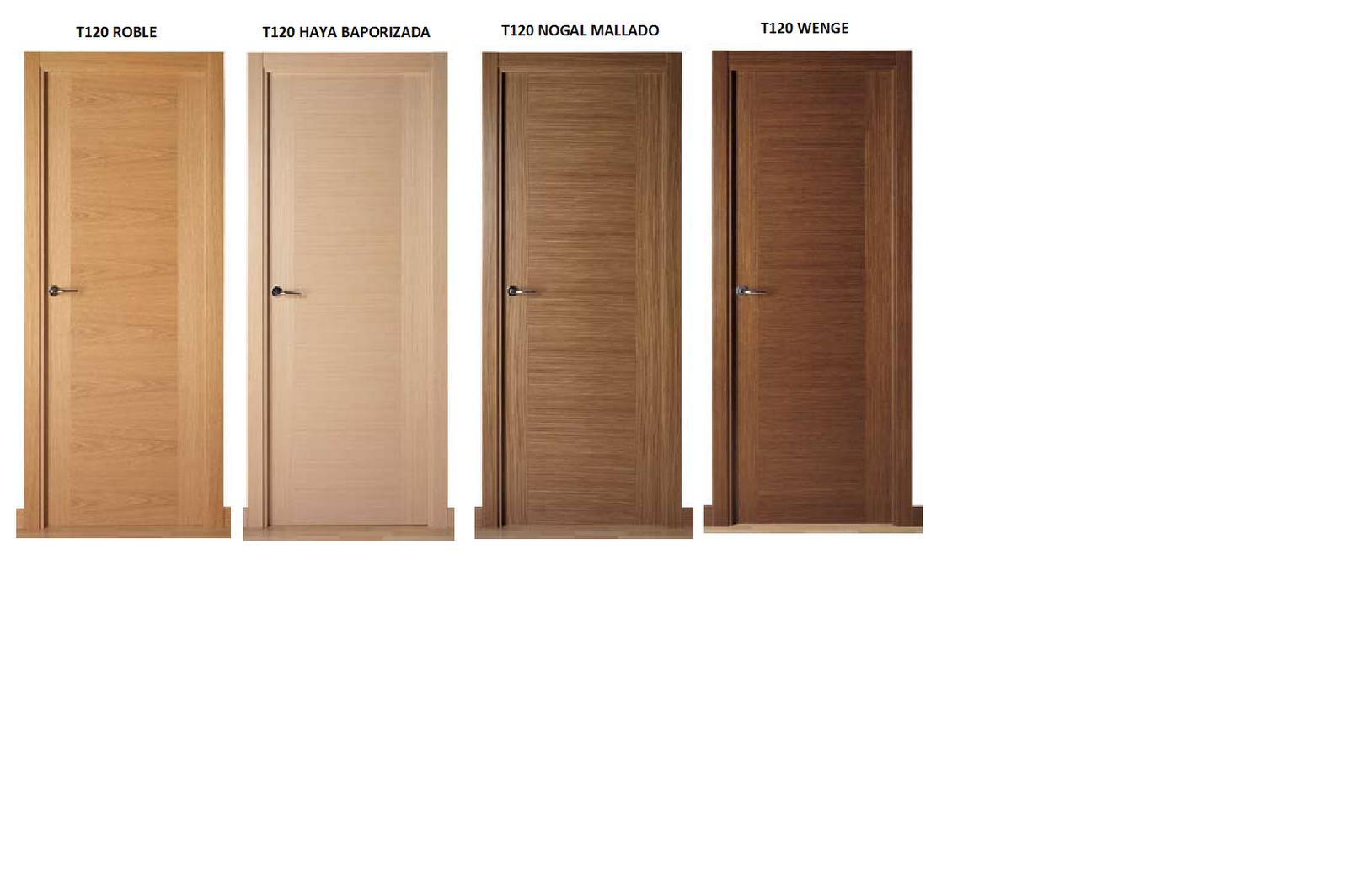 Carpinter a de madera mart n torralbo puertas for Puertas de madera modernas para interiores