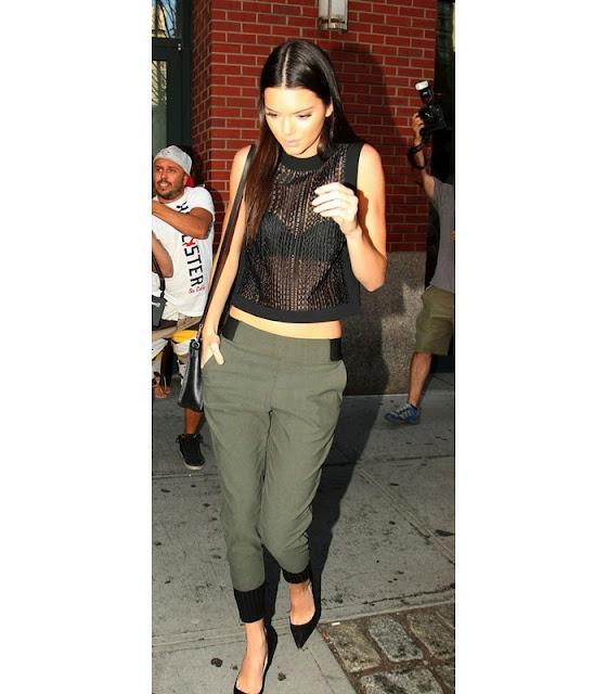 Kendall Nicole Jenner modelo americana irmã de Kim Kardashian