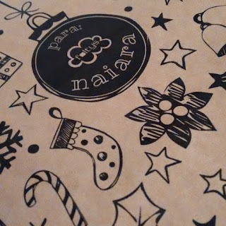 papel regalo navideño personalizado foltys | custom Christmas wrapping paper foltys