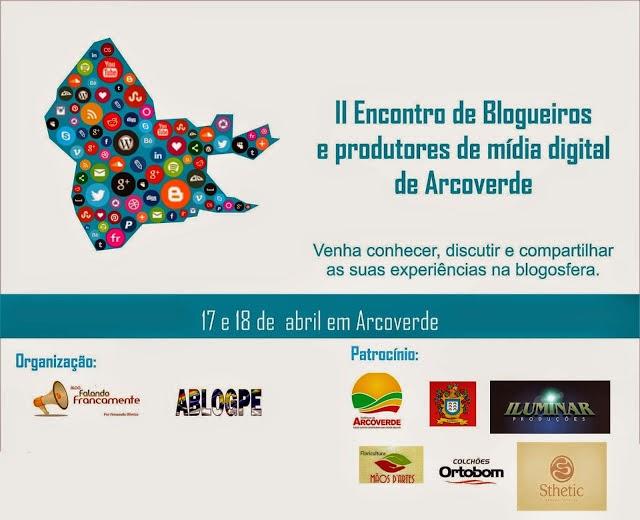 II Encontro de Blogueiros de Arcoverde