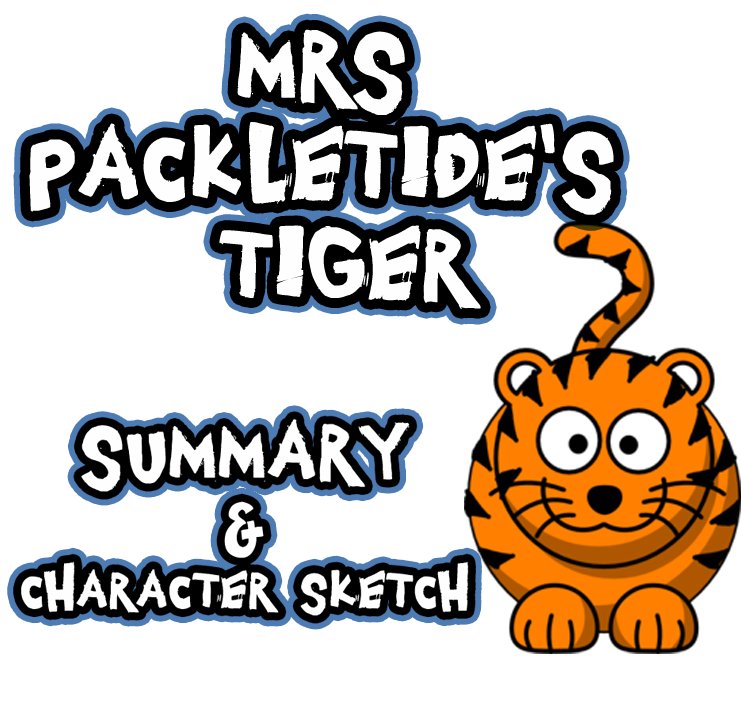 character sketch of mrs packletide of mrs packletides tiger essays and term papers New wave (fiction section) class x cbse english notes explore  write his brief character-sketch  why was mrs packletide's tiger-hunt not thrilling.