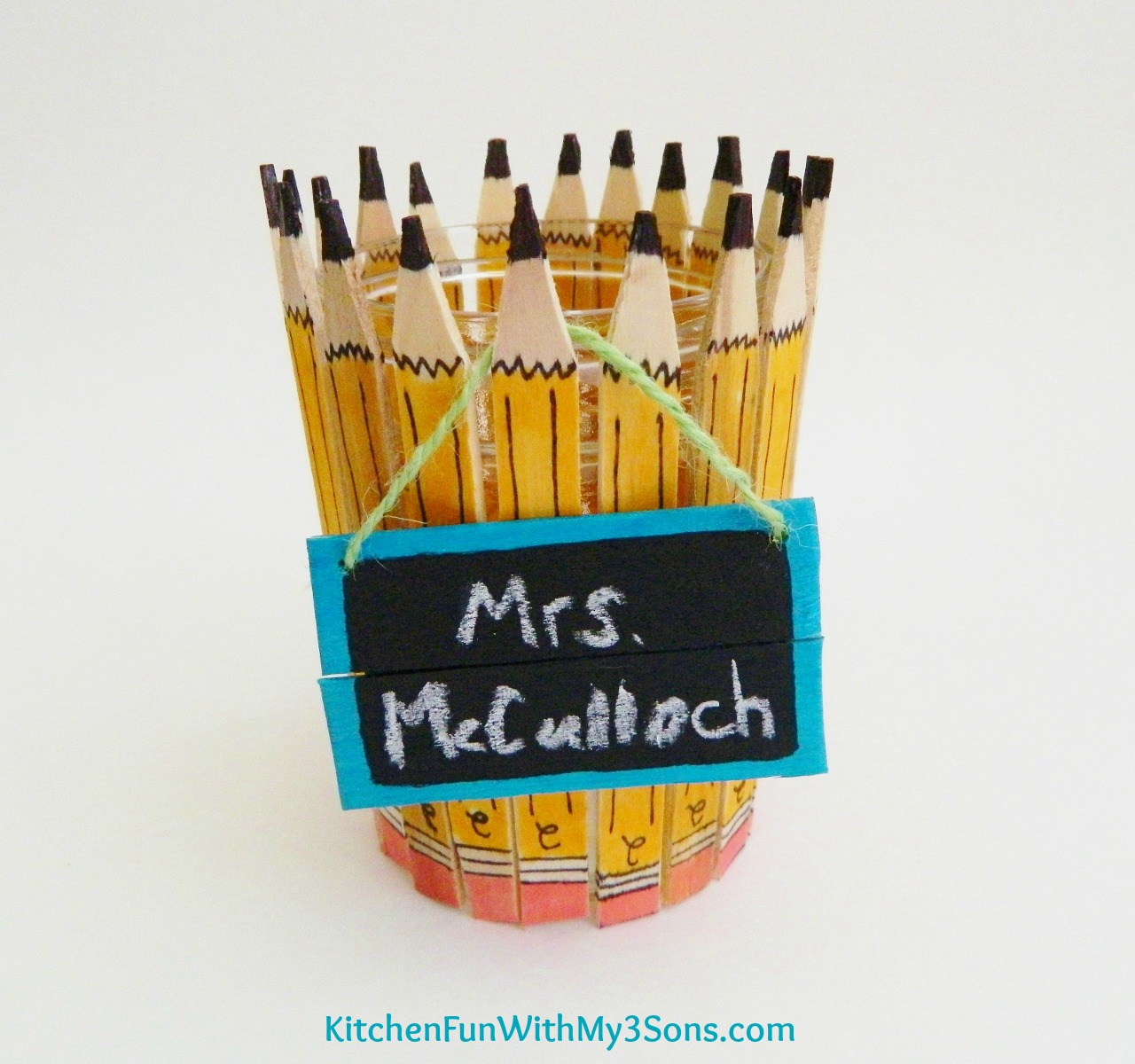back to school popsicle stick pencil craft for teachers