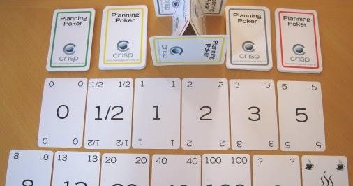 4 jugadores HelloAgile Planning Poker para equipos Scrum por ejemplo Cartas de p/óquer para estimar equipos /ágiles