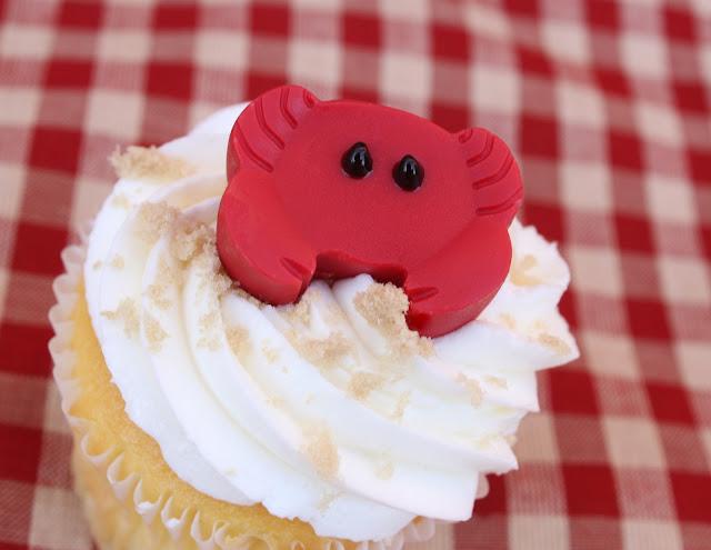Summer Crab Shack Cupcakes