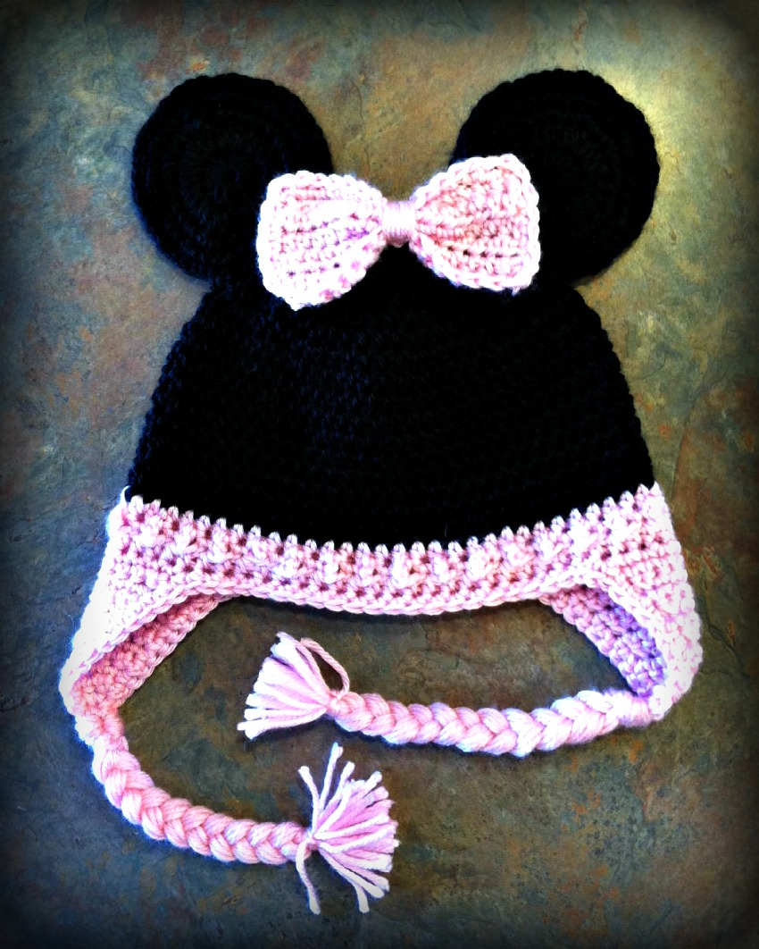 Sweet Mamu: Minnie Mouse Crocheted Hat