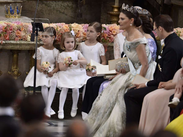 Wedding Ceremony: Prince Carl Philip and Sofia Hellqvist