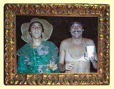 Guilo e Renato em foto do Zé Márcio - 1985