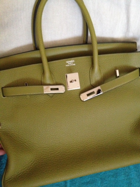 hermes tote bags - Purse Princess: Replica Hermes Red Birkin 35cm Clemence from Victoria