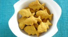 Home Made Goldfish Crackers {with Sweet Potatoes}