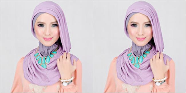 Cara Memakai Jilbab tidak ribet simple dan praktis