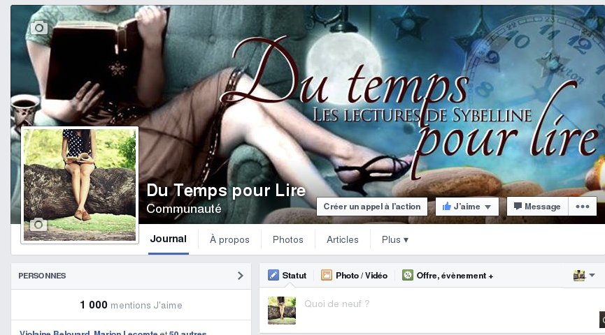 https://www.facebook.com/dutempspourlire
