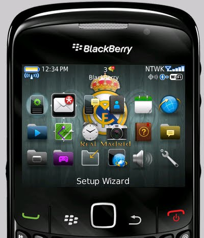 8520 Blackberry Free Themes Real Madrid Themes OS7 Iconset Blackberry
